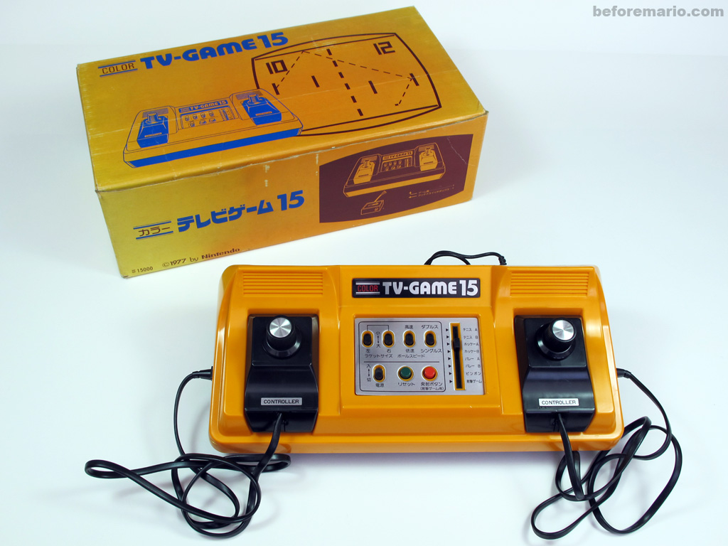Nintendo Color Tv Game : Beforemario nintendo color tv game カラー テレビゲーム