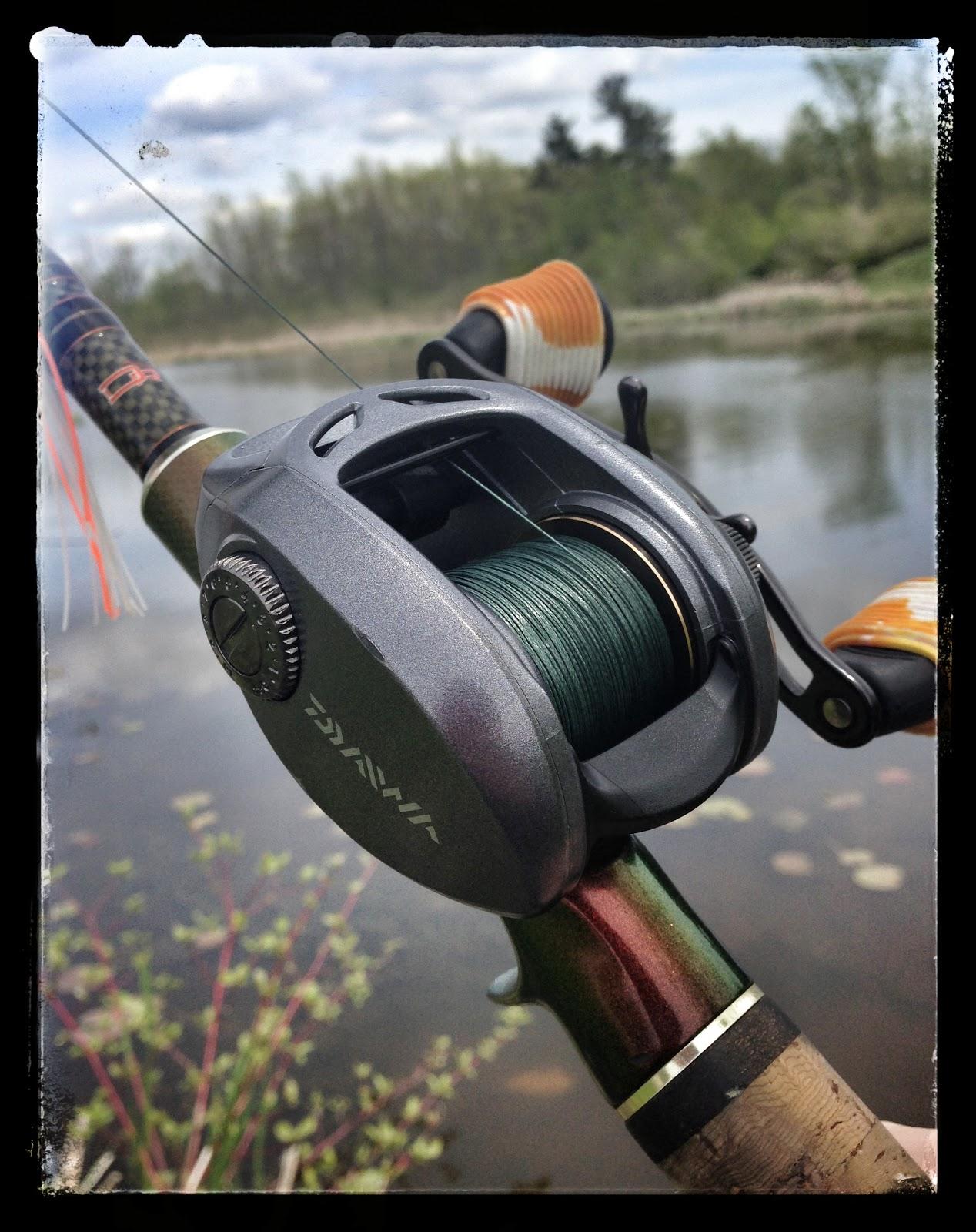 Bass junkies fishing addiction test drive daiwa lexa for Best fishing line for bass baitcaster