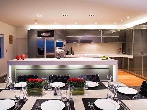 Inspirasi Desain Kitchen Set Minimalis