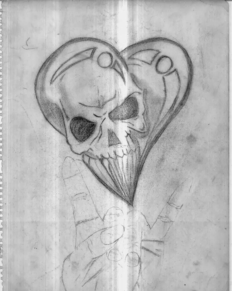 Dibujos De Amor Emo A Lapiz