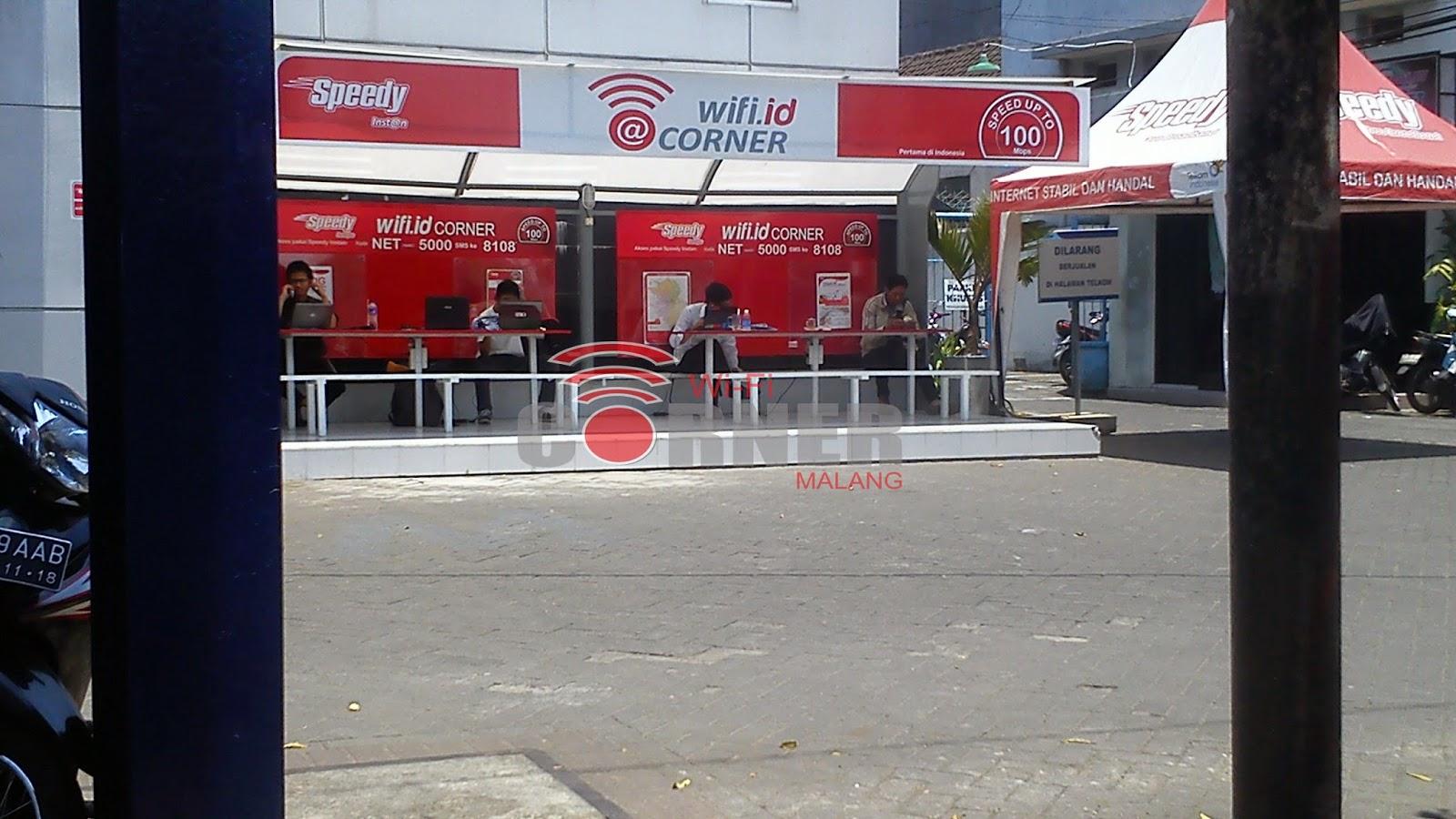 Jual Voucher Wifi Id Telkom Welcome To Starbox Puluhan Anak Muda Padati Corner Basuki Rahmad Malang