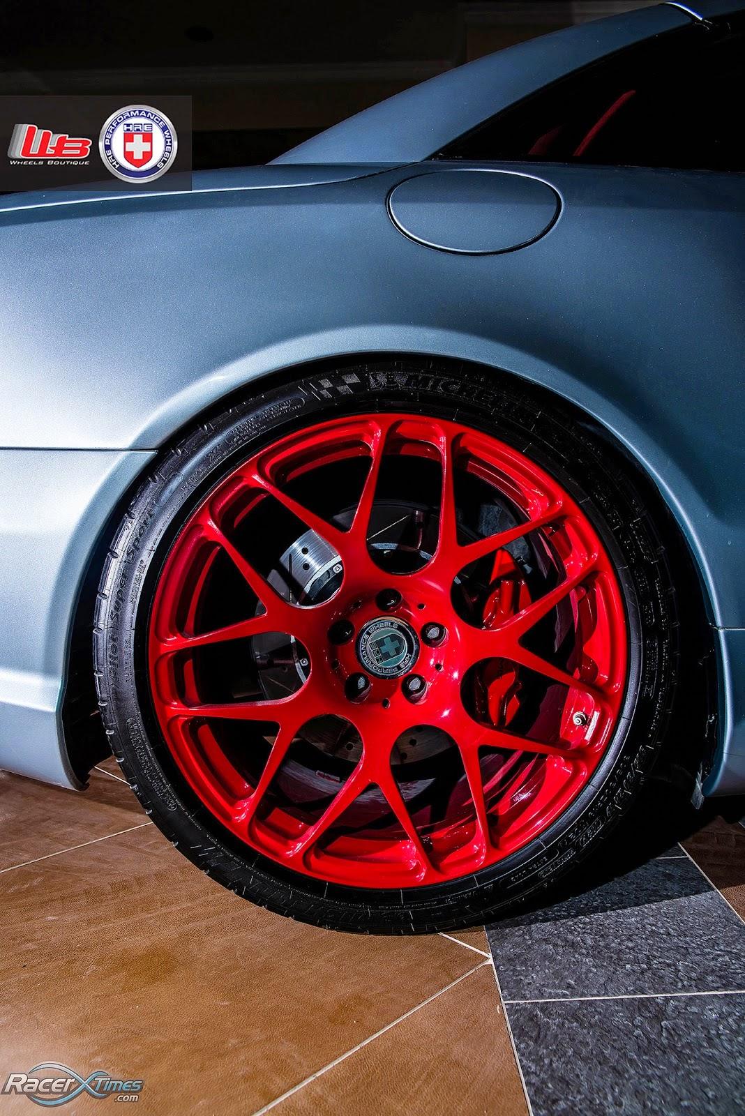 Mercedes Benz R230 Sl55k Amg On Hre Performance Wheels