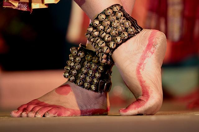 Bharatanatyam Foot Work (Thalam / Talas / Taal)