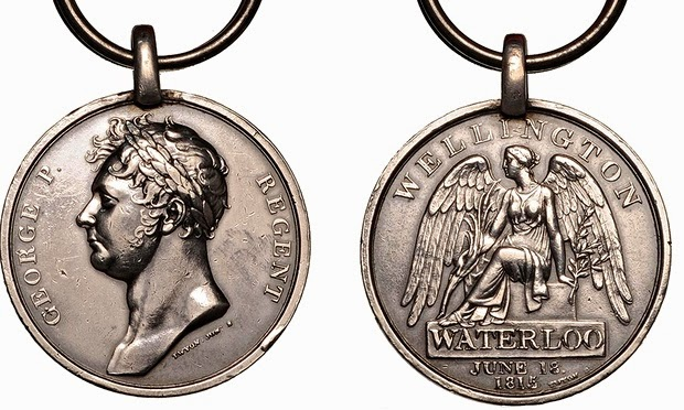 WATERLOO MEDAL TO BE REISSUED