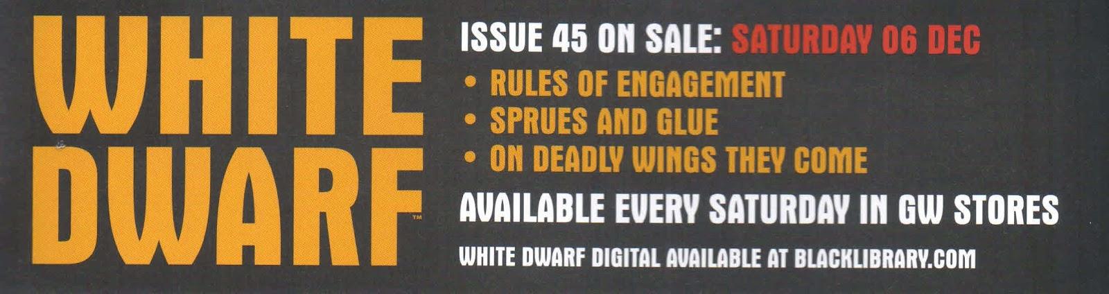 Avance la White Dwarf número 45