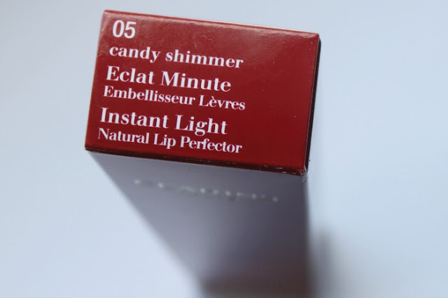 Clarins Instant Light Natural Lip Perfector in Candy Shimmer
