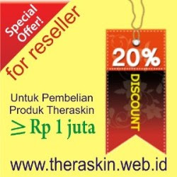 Promo Reseller Theraskin Diskon 20%