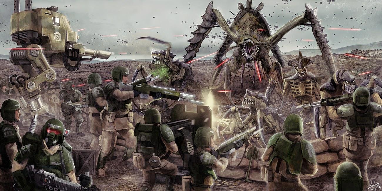 Guardia Imperial vs Biotitanes