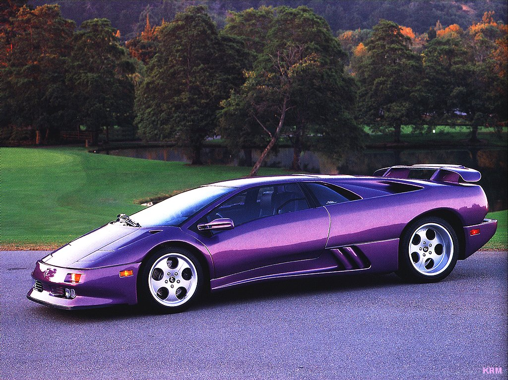 Lamborghini Diablo Cars Hd Wallpapers