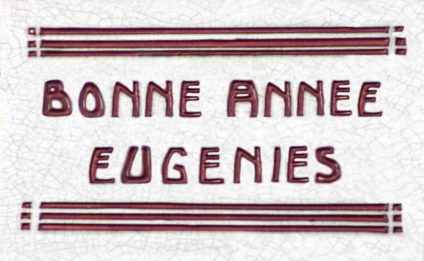 2016 avec Eugénies