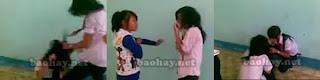 Nữ sinh lớp 6 THCS Nguyễn Hiền Quận 12 đánh nhau lột áo | hay88.com