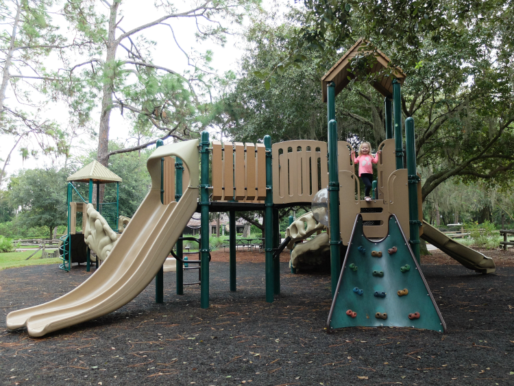 Walt Disney World's Fort Wilderness campgrounds playground