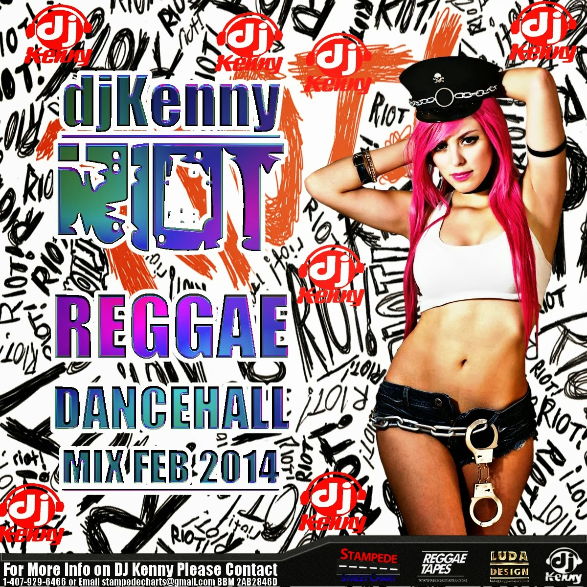 Dj Kenny - Riot Reggae Dancehall Mix