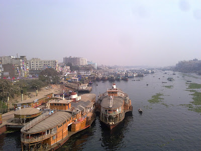 Steamer. in Dhaka