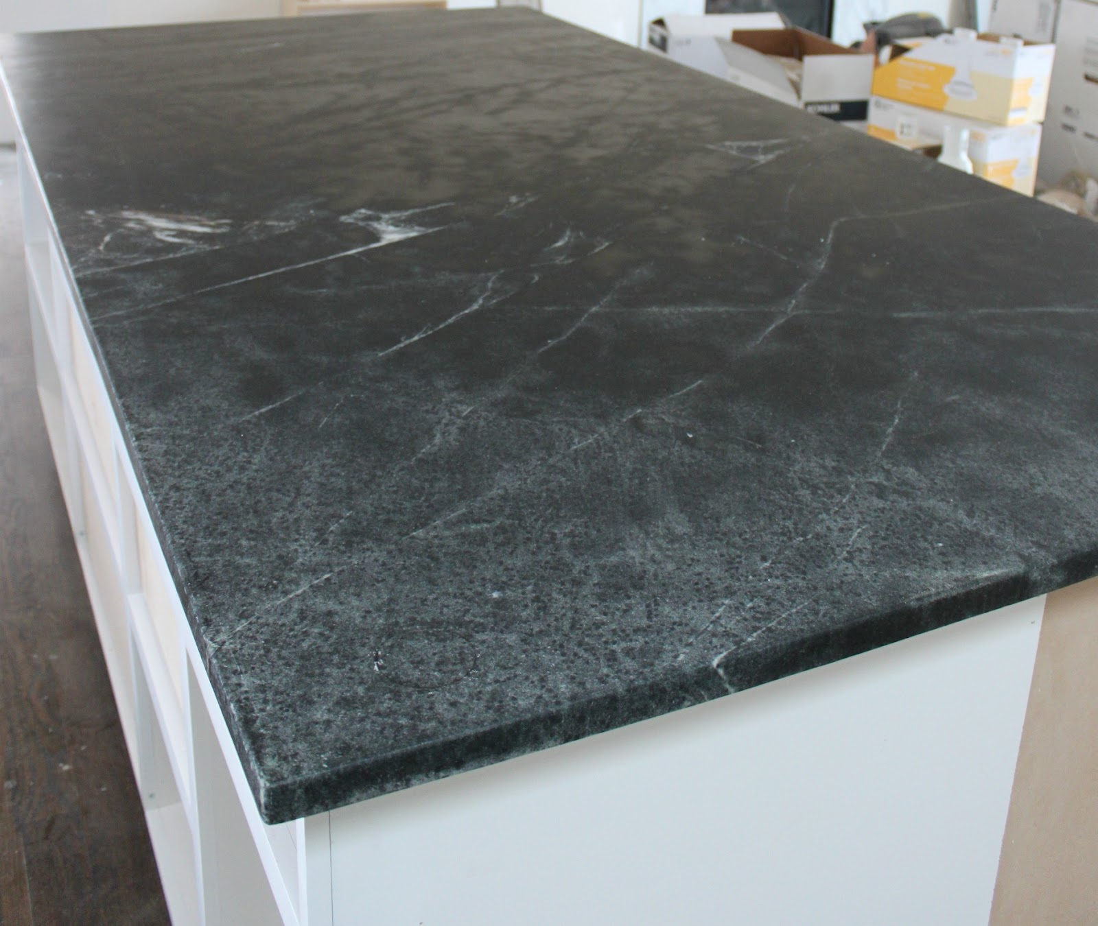 Problems With Soapstone Countertops : Weekly house update