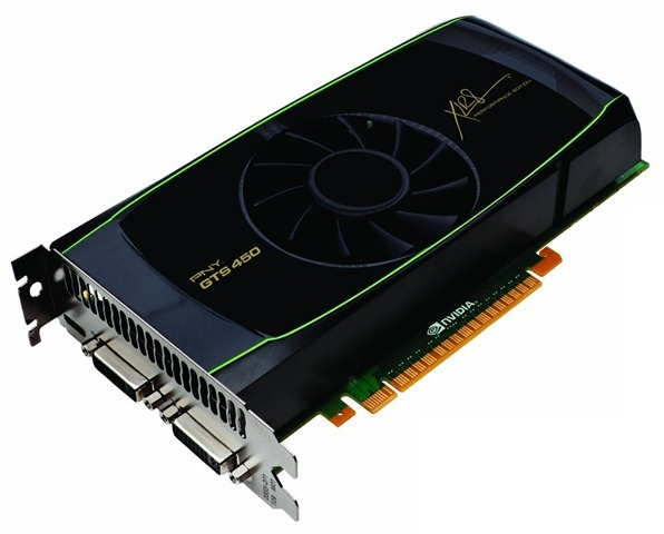 PNY VCGGTS4501XPB GeForce GTS 450 (Fermi) 1GB Video Card