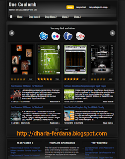 Template Blogger One Coulomb