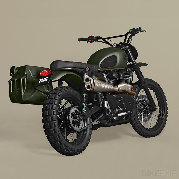 Ton Up Scrambler Bonnefication