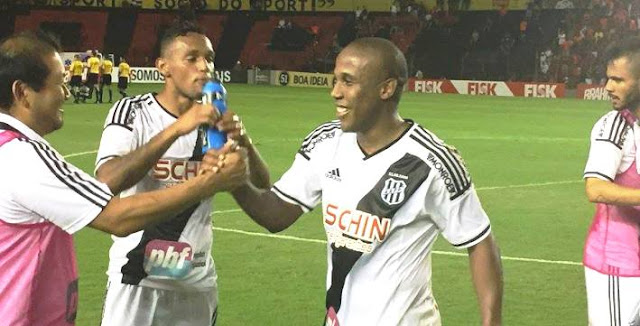 Em busca do centésimo gol no Brasileiro, Borges garantiu ponto fora de casa (Foto: Divulgação/Ponte Preta)