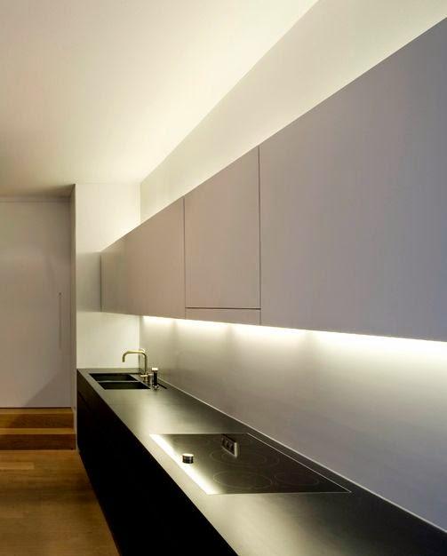 Muebles de cocina en dos colores for Cocinas colores combinados