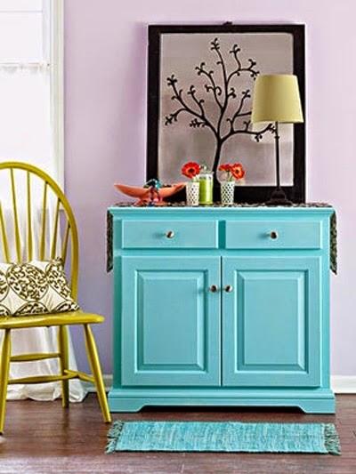 Как перекрасить мебель своими руками фото