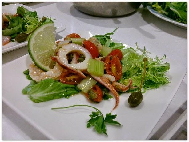 義大利菜食譜:西西里海鮮沙拉食譜