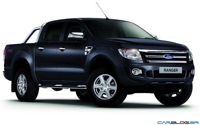 Nova Ford Ranger 2013 XLT Limited 3.2 Diesel - preta