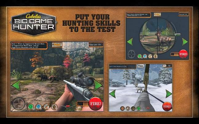 Cabela's Big Game Hunter android apk - Screenshoot