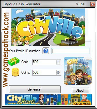 CITYVILLE CHEATS COINS CASH ENERGY AND UNLIMITED GIFTS