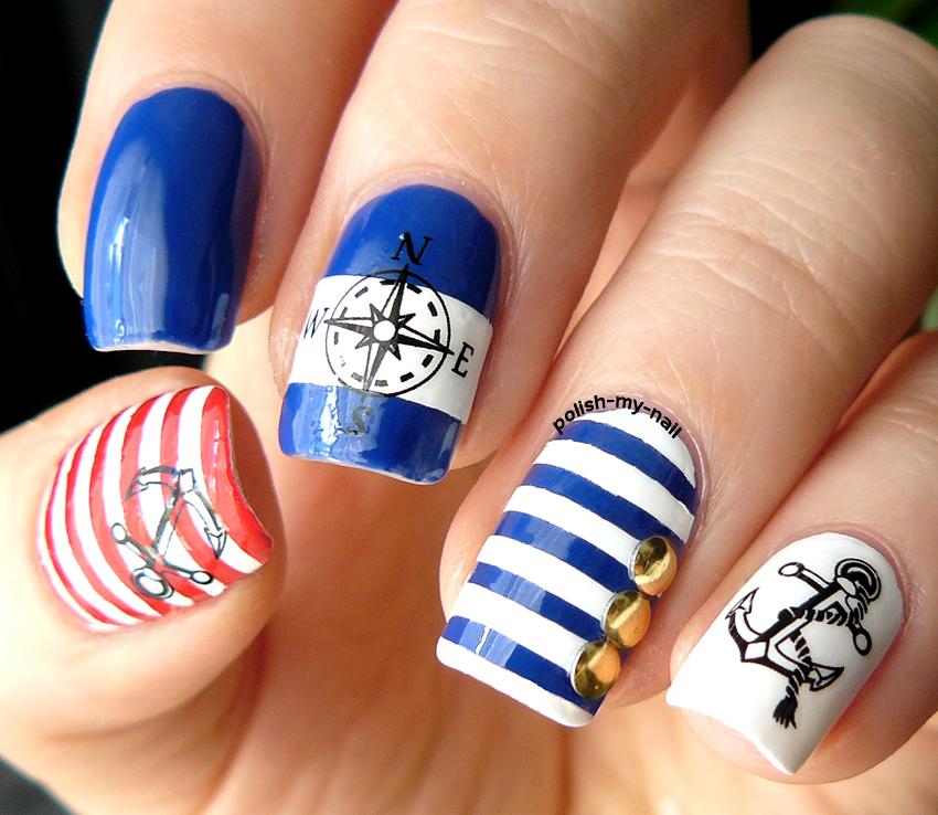 Polish My Nail: Ahoj Marynarzu! Hey Sailor!
