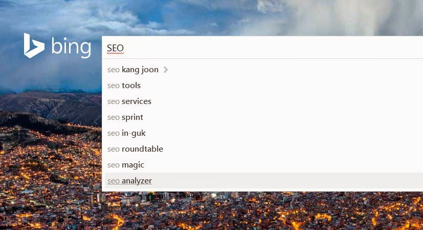 Bing Type Ahead for Keyword Research in SEO