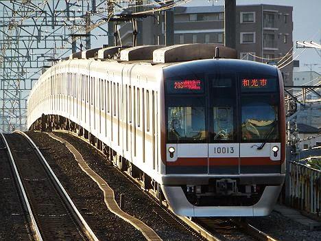 東京メトロ副都心線 通勤急行 和光市行き1 10000系旧表示