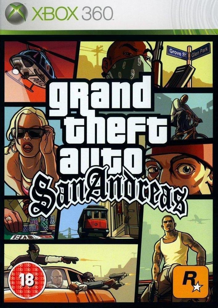Grand Theft Auto San Andreas (Xbox 360): Manhas & Cheats | Portal E7