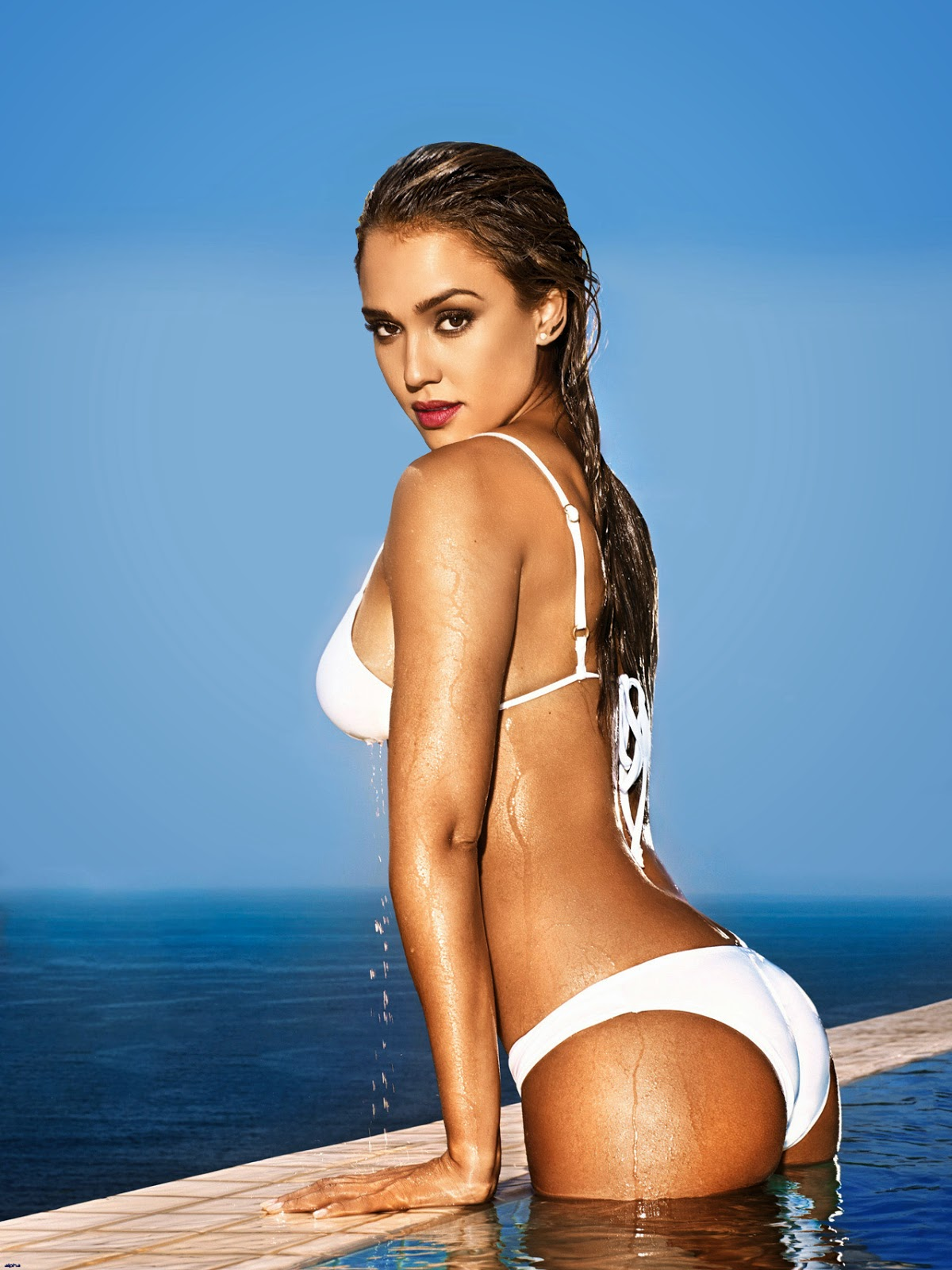 Magazines the charmer pages jessica alba for entertainment weekly