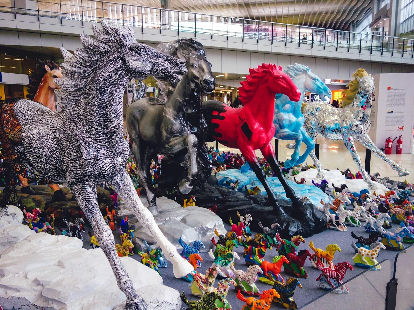 Art installation Hong Kong Airport