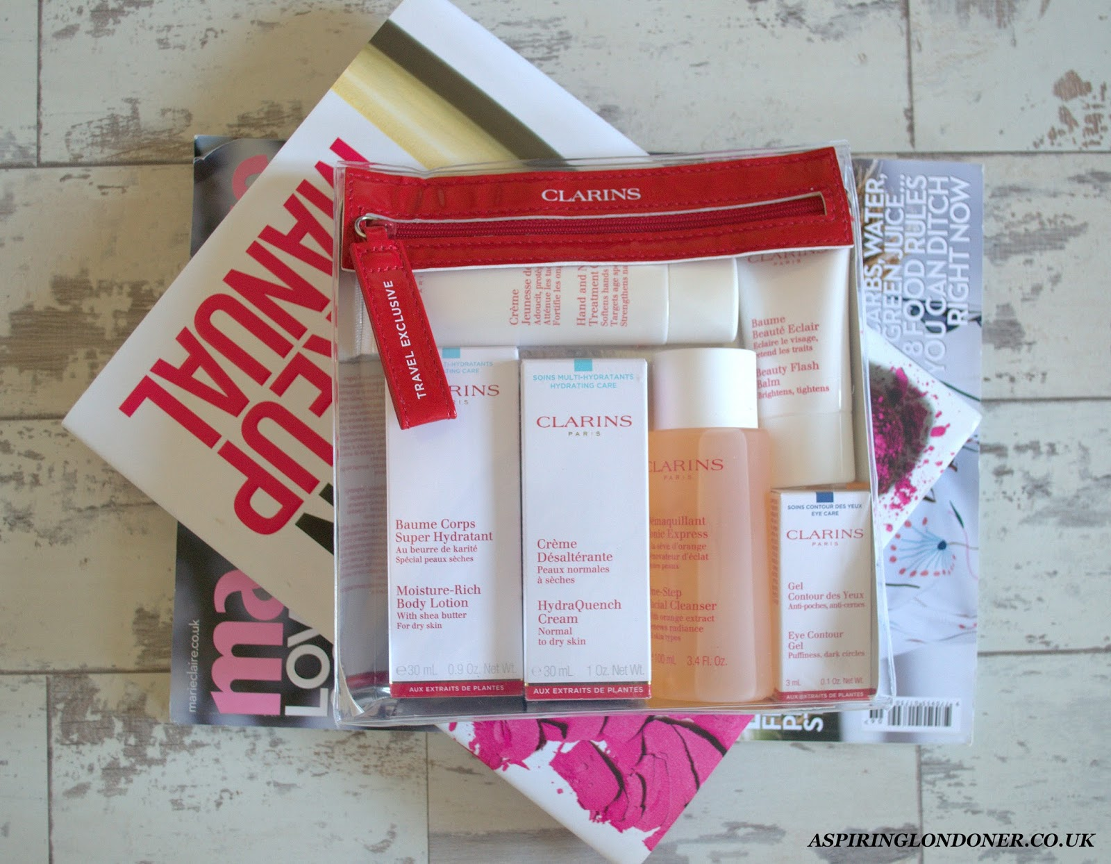 Clarins Take Off Essentials Set - Aspiring Londoner