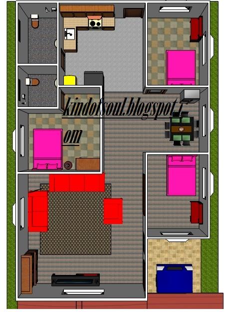 plan rumah 5 model 3d rumah 6 plan rumah 6