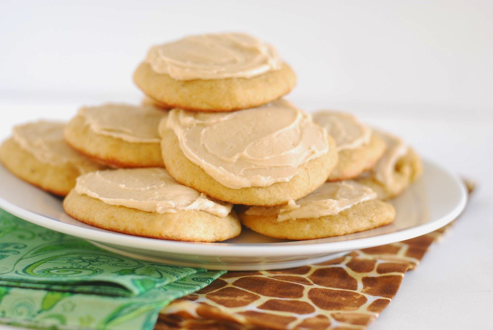 Frosted Banana Cookies | Call Me Fudge