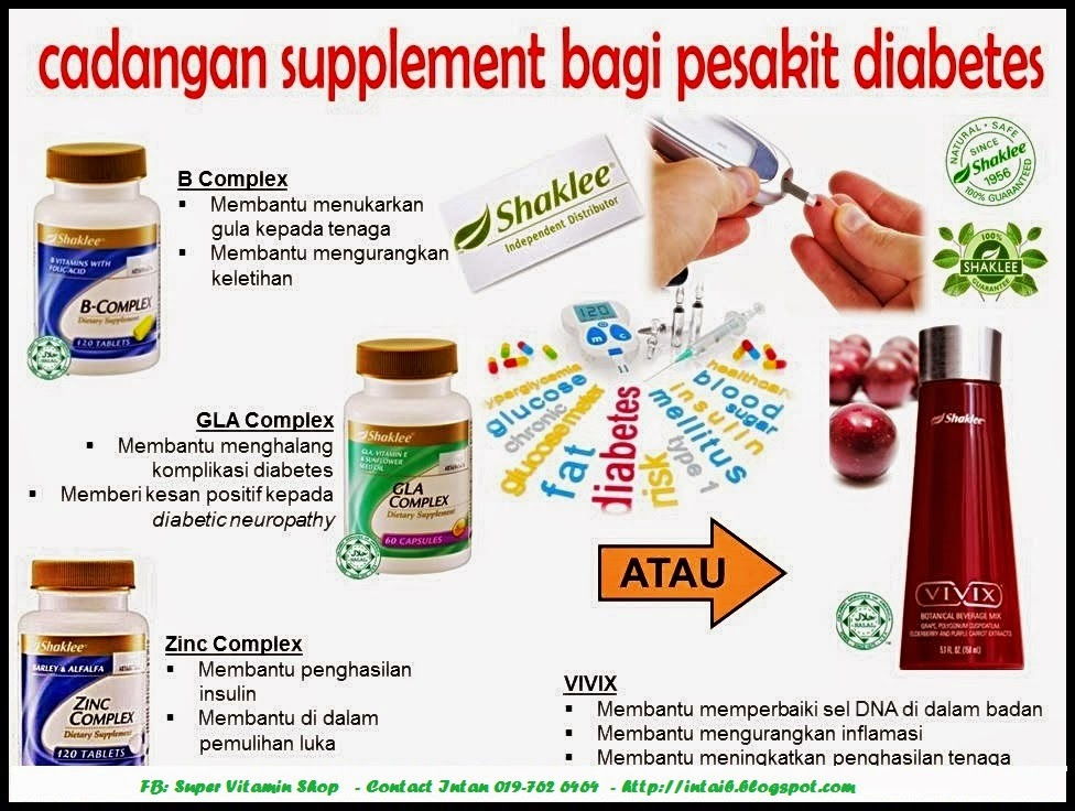 Image result for vitamin shaklee untuk kencing manis