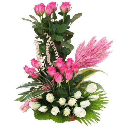 Корзины для цветов плетеные - 24