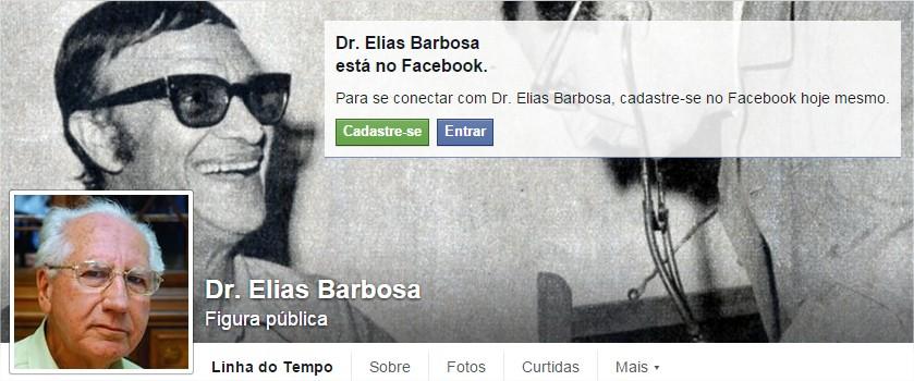 FACEBOOK COM O DR.ELIAS BARBOSA