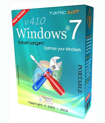 Yamicsoft Windows 7 Manager 4.1.3 With Crack & Key