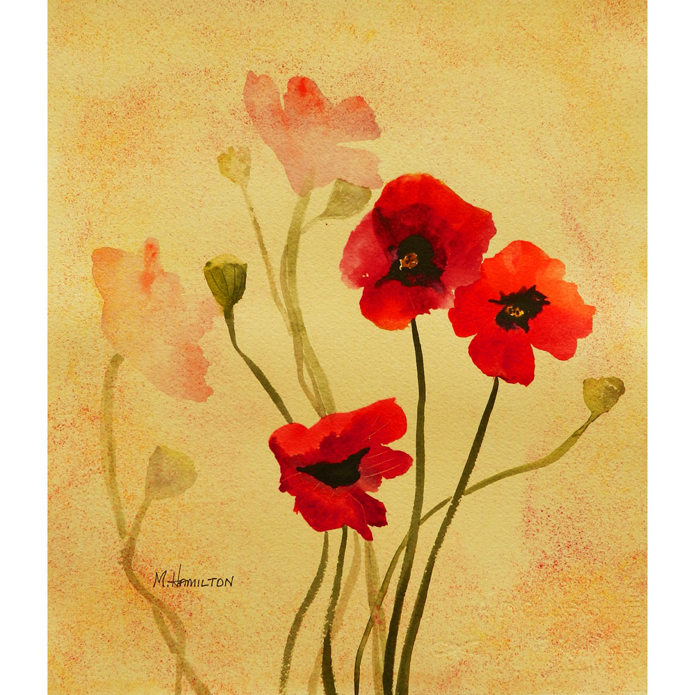 Dreams About ArtPoppy Flowers Painting