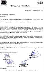 Declaración Municipal