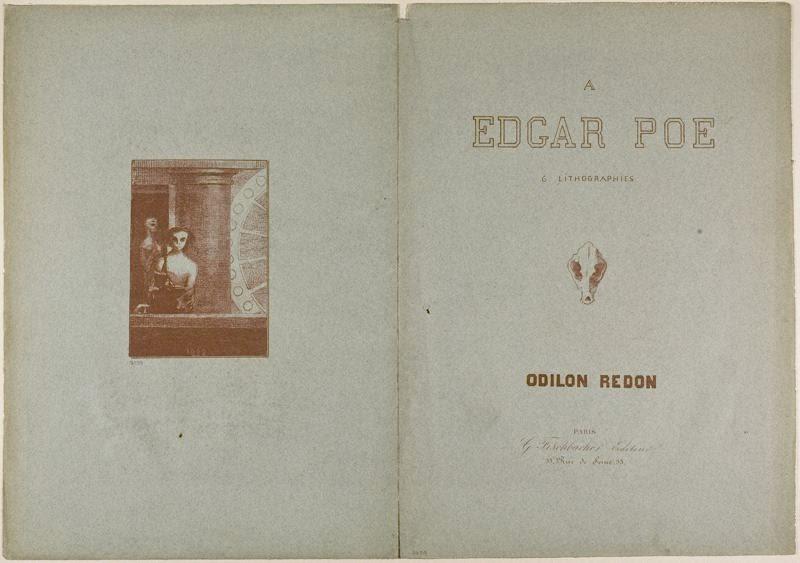 À Edgar Poe: 6 litographies