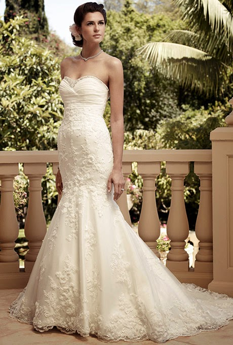 2015 mermaid wedding dresses