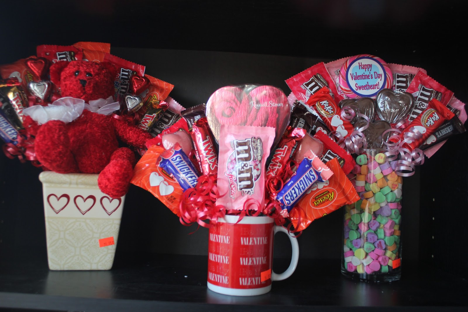 Then, I Stopped By Walmart And Bought Some Of The Big Bags Of Valentineu0027s  Candy. You Can Use Regular Fun Size Bars, But I Like The Colors And Designs  That ...