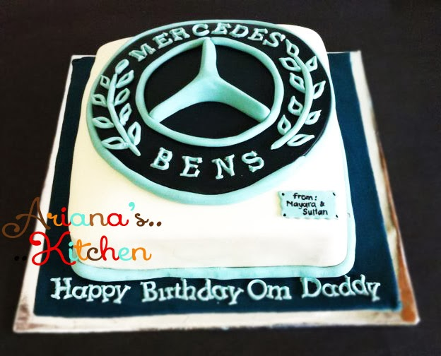 Ariana 39 S Kitchen Mercedes Benz Logo Cake