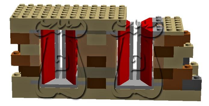 Ejemplo 5: Saetera con abocinamiento exterior e interior, mediante achaflanado de los laterales