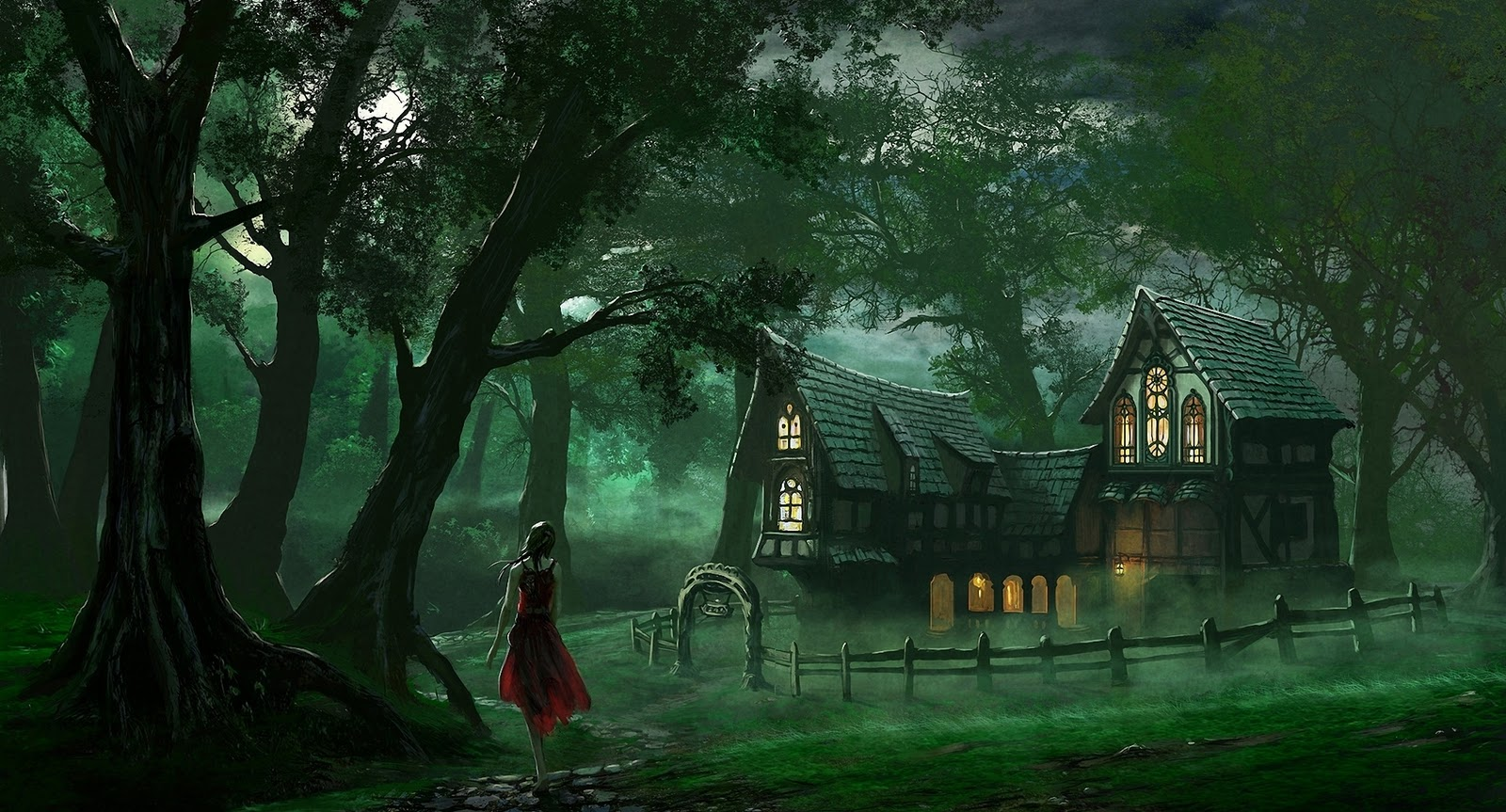Fantasy wallpapers beautiful fantasy wallpapers free hd for 3d wallpaper of house